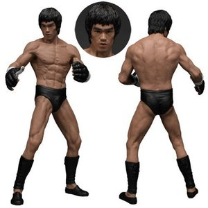 Die Bruce Lee Martial Artist Series No. 2 12.01 Statue Bruce Lee (MMA Iconic Outfit) 19 cm