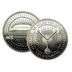 Zurück in die Zukunft sammelbaren Münzen (versilbert)