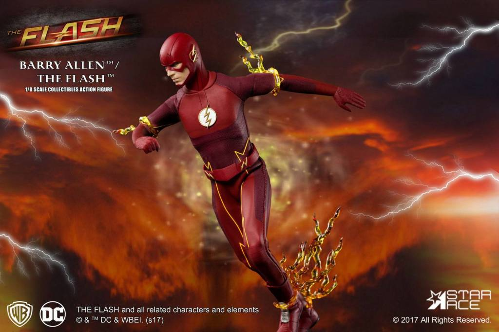 The Flash Real Master Series Action Figure 1 8 23 Cm