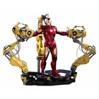 Iron Man 2 Diecast MMS AF 1/6 Iron Man Mark IV & Suit-up Gantry 32 cm