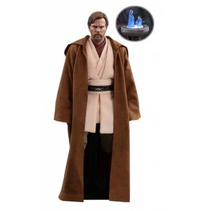 Star Wars Episode III Movie Masterpiece Action Figure 1/6 Obi-Wan Kenobi Deluxe Version 30 cm