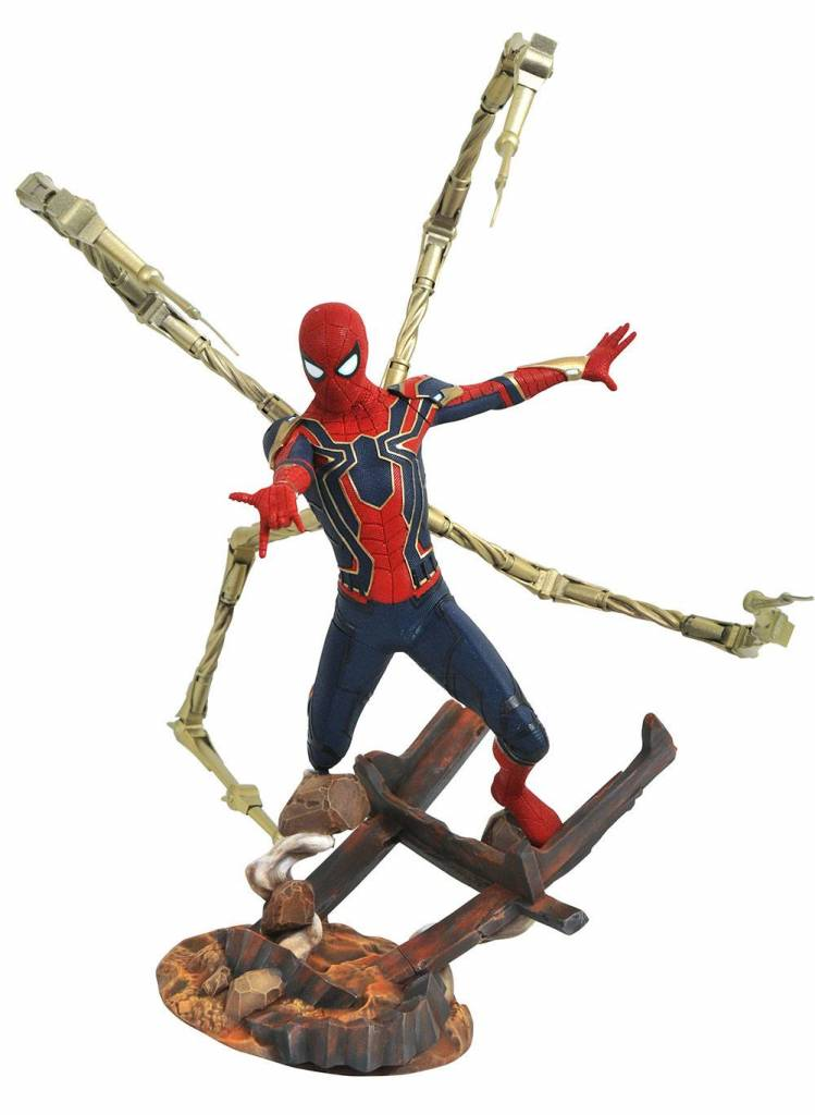 Avengers Infinity War Marvel Premier Collection Statue Iron Spider