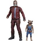 Guardians of the Galaxy Volume 2 Marvel Select Action Figure Star-Lord & Rocket Raccoon