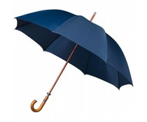 Golfparaplu luxe 14mm houten stok/haak windproof