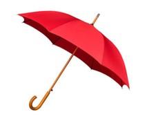 Klassieke paraplu houten stok & haak