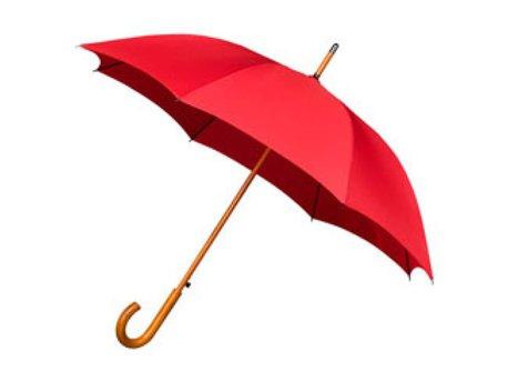 Klassieke paraplu met houten stok & haak