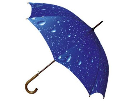 Klassieke paraplu met modern dessin