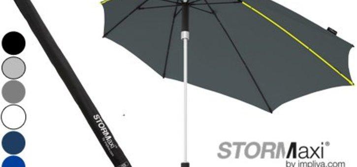Nieuw: stormparaplu voor slechts 16,99