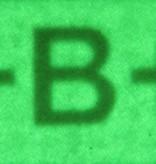 Infrared Tools IR Blood Type B+