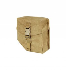 NFM Ammo pouch MINIMI 200 rounds FL BCL, Coyote Brown