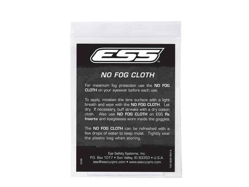 ESS Reusable NO FOG Cloths (25 Pack)