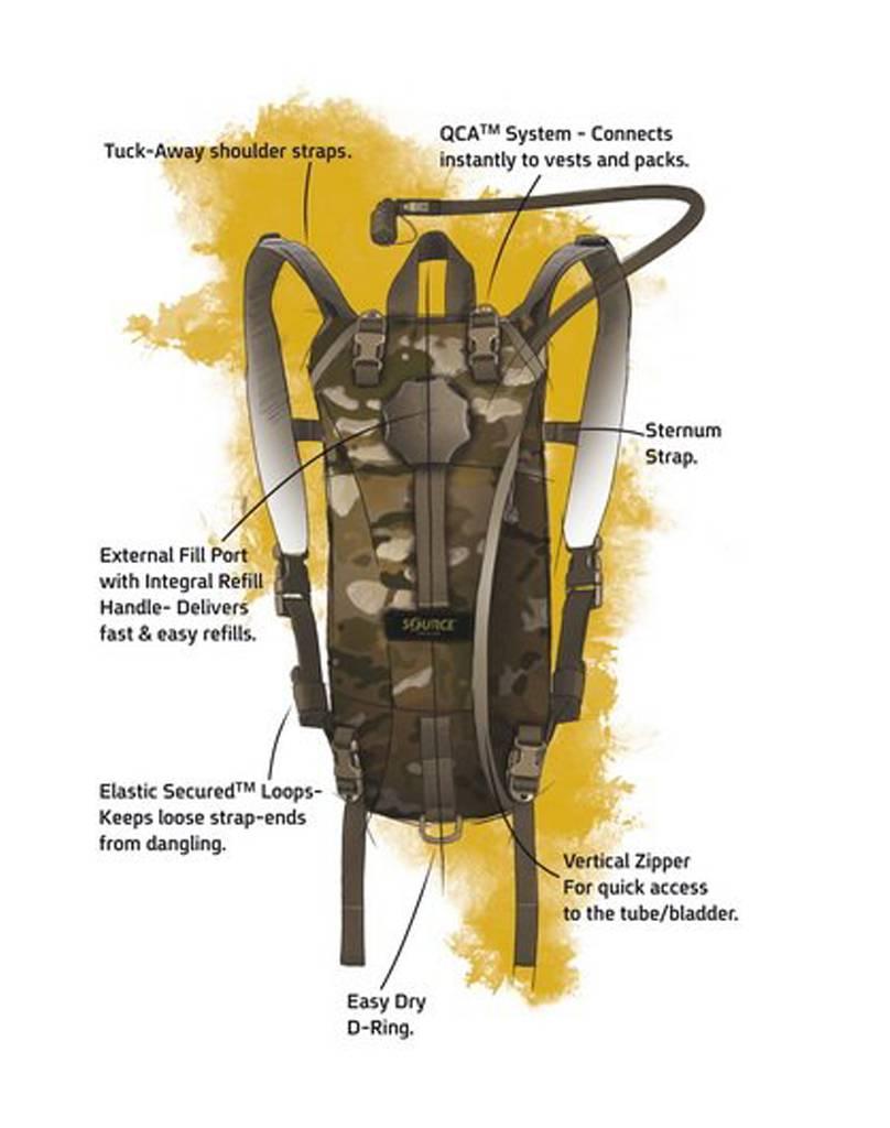 Source Tactical 3L WXP Hydration Pack