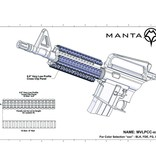 Manta Low-Profile Wire Routing Rail Guards (3-Pack)