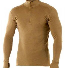 COBBS Shirt LS Zip Neck FR