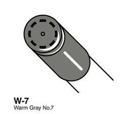Copic Ciao marker Copic Ciao marker W7 warm gray 7