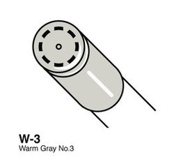 Copic Ciao marker Copic Ciao marker W3 warm gray 3