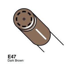 Copic Ciao marker Copic Ciao marker E47 dark brown