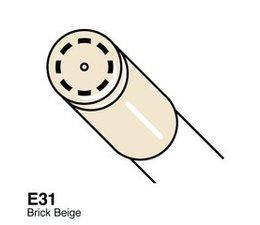 Copic Ciao marker Copic Ciao marker E31 brick beige