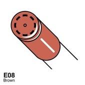 Copic Ciao marker E08 brown