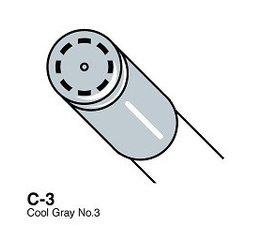 Copic Ciao marker Copic Ciao marker C3 cool gray 3