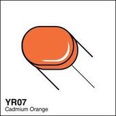 Copic Sketch marker YR07 cadmium orange