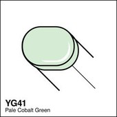 Copic Sketch marker YG41 pale cobalt green