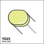 Copic Sketch marker YG23 new leaf