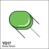 Copic Sketch marker YG17 grass green