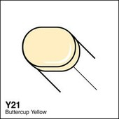 Copic Sketch marker Y21 buttercup yellow