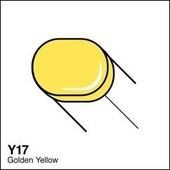 Copic Sketch marker Y17 golden yellow