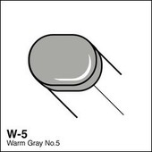 Copic Sketch marker W05 warm gray 5