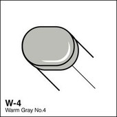 Copic Sketch marker W04 warm gray 4