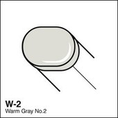 Copic Sketch marker W02 warm gray 2