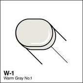 Copic Sketch marker W01 warm gray 1
