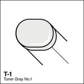 Copic Sketch marker T01 toner gray 1