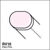 Copic Sketch marker RV10 pale pink