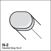 Copic Sketch marker N02 neutral gray 2