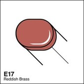 Copic Sketch marker E17 reddish brass