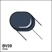 Copic Sketch marker BV29 slate