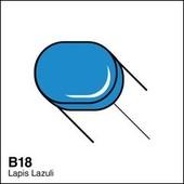 Copic Sketch marker B18 lapis lazuli