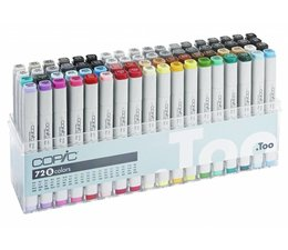 Copic marker original Copic markerset 72-delig AD set II