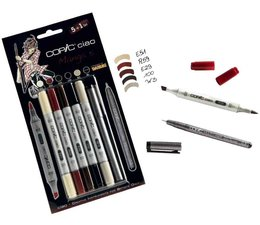 Copic Ciao marker Copic Ciao markerset 5+1 (multiliner) Manga 5