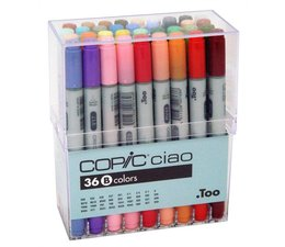 Copic Ciao marker Copic Ciao markerset 36-delig B