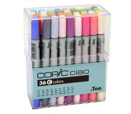 Copic Ciao marker Copic Ciao markerset 36-delig D