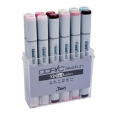 Copic Sketch marker 12-delig EX-1