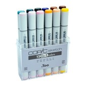 Copic Sketch marker 12-delig EX-2