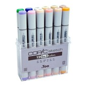 Copic Sketch marker 12-delig EX-3