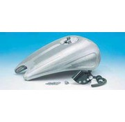 gas tank one piece 2 inch stretched steel with indents