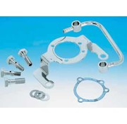 Barnett Carburetor Chrome aircleaner support bracket