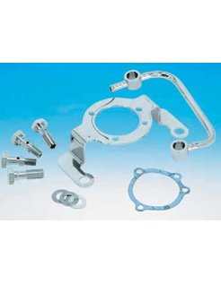 Harley Carburetor chrome aircleaner support bracket